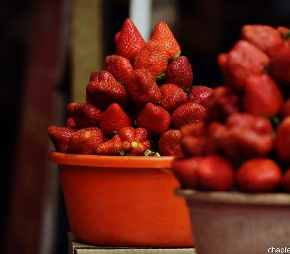 Strawberries-India