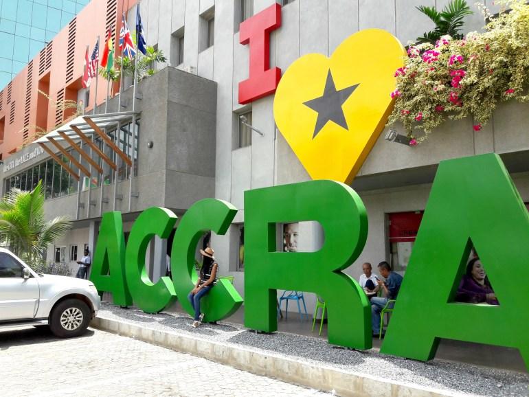 I love accra