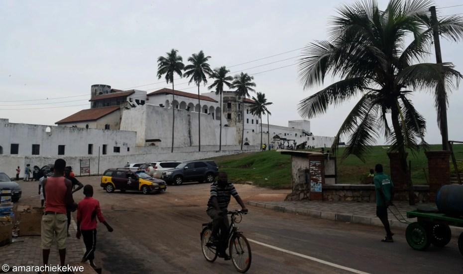 Elmina Castle vs Cape Coast Castle