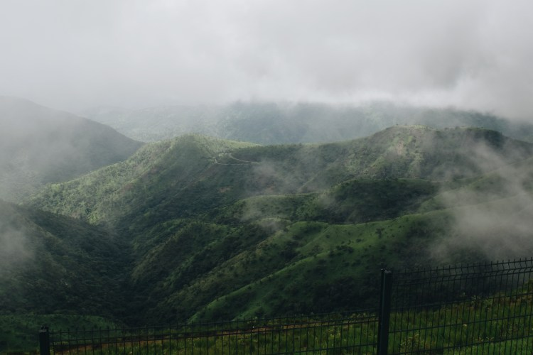 Mountain views at Obudu