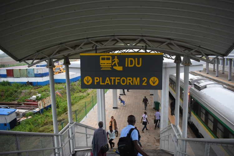 idu train station