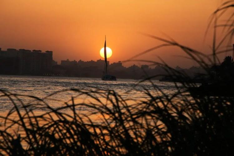 Nile Sunset Cairo