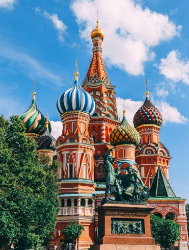 Russia Travel with a Pen
