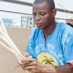The art of basket weaving