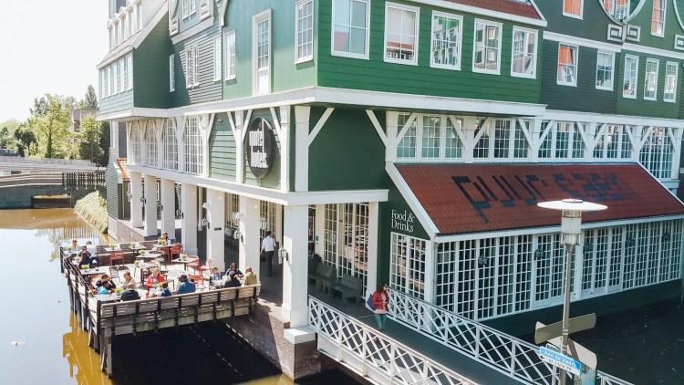Colorful buildings Zaanse Schans