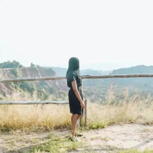 Les Gorges De Diosso lookout