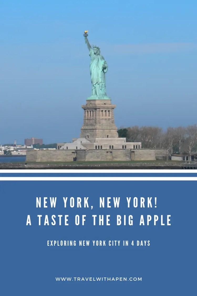 4 days New York Itinerary