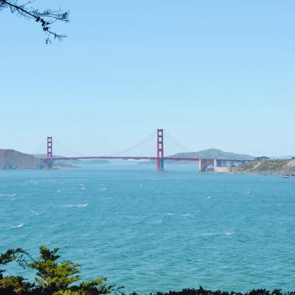 Golden Gate Bridge Eagles Point