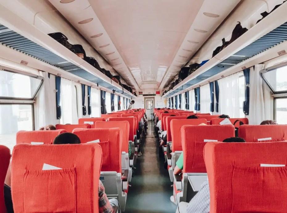 SGR Nairobi to Mombasa Train First Class Cabin