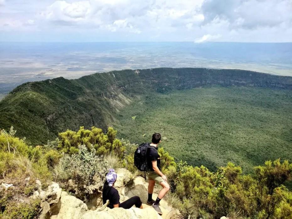 Hiking Mt Longonot