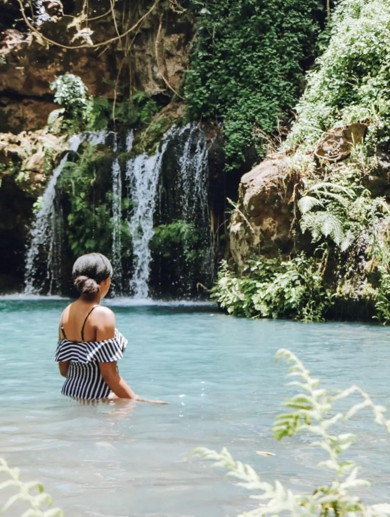 Ngare Ndare Blue Pools