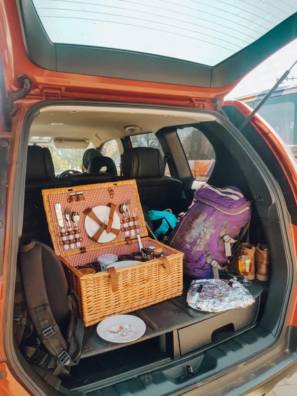 Road Trip Breakfast Packed