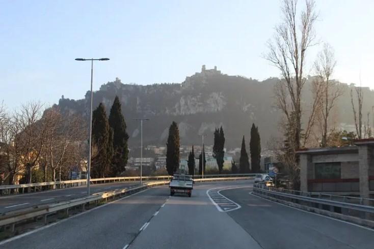 The three towers of San Marino