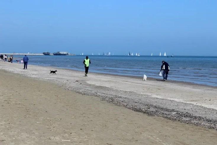 Beach in Rimini