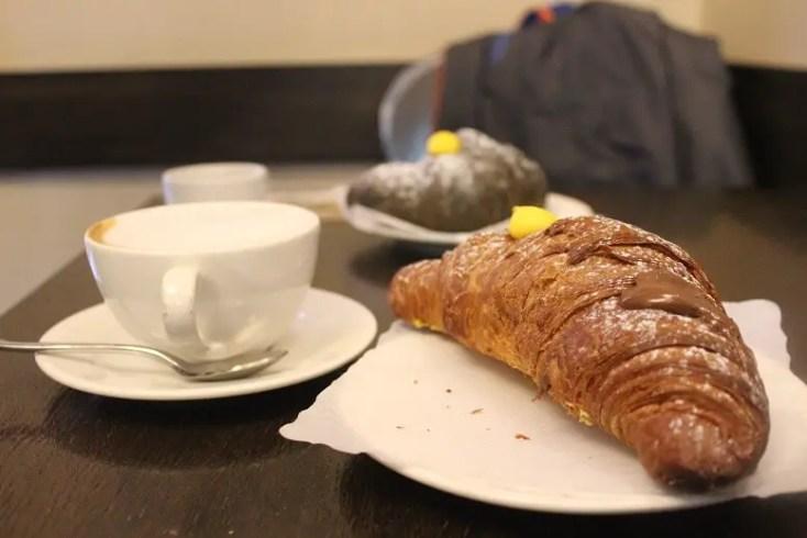 Croissant at Cafferteria Fiordaliso