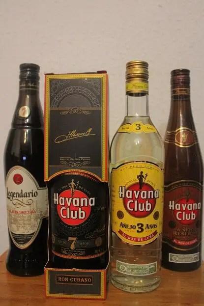 Rum Havana Club souvenirs