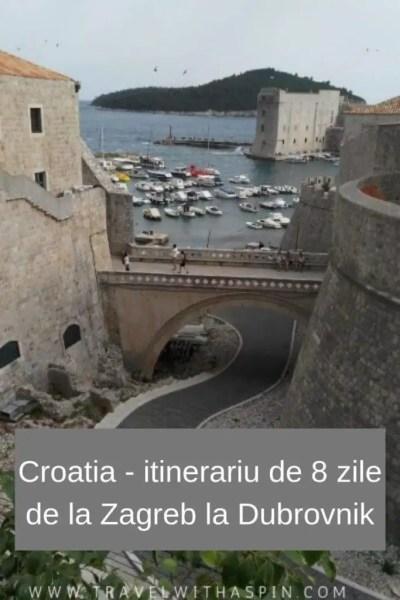 Croatia itinerariu de 8 zile de la Zagreb la Dubrovnik