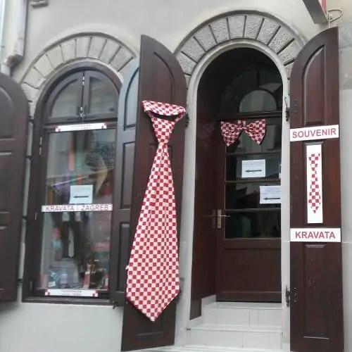 Krawata, a perfect souvenir from Zagreb, Croatia