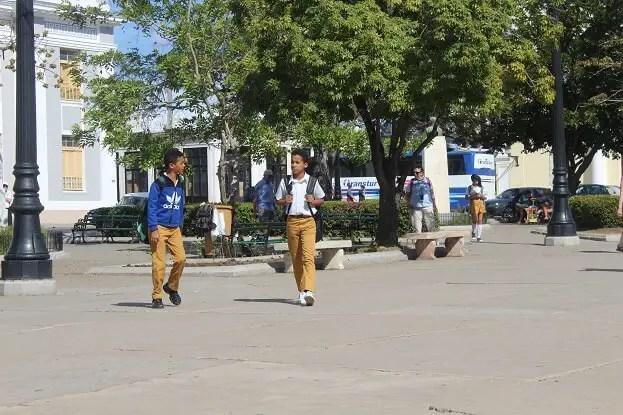School children Cuba