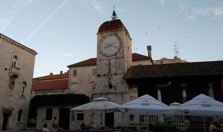 The Tower Clock, Trogir, Croatia