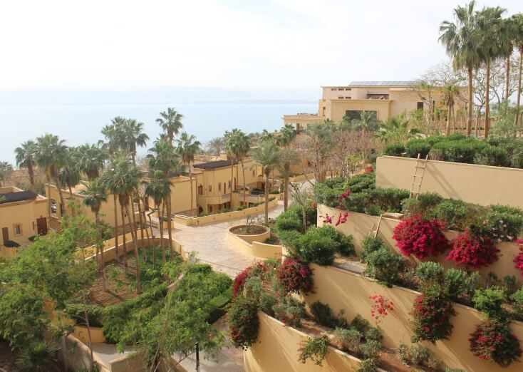 Hotel at the Dead Sea, Jordan