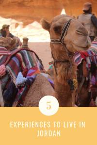 Top 5 experiences to live in Jordan