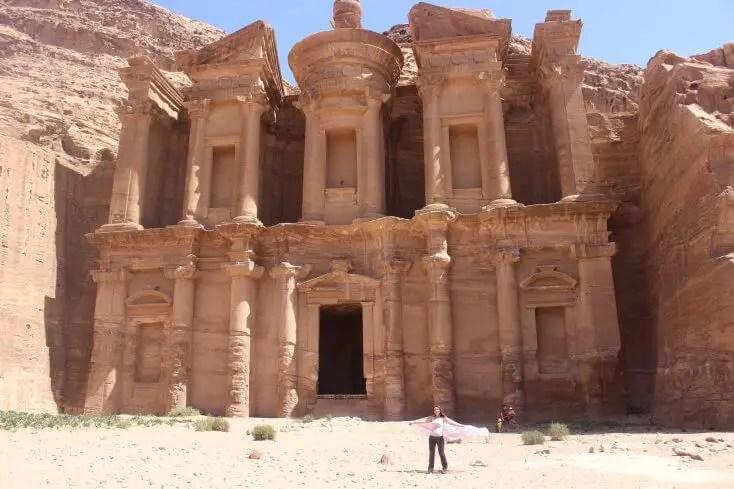 Mânăstirea, Petra, Jordan