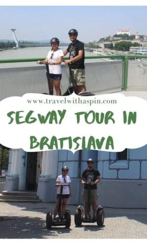 Our segway tour in Bratislava