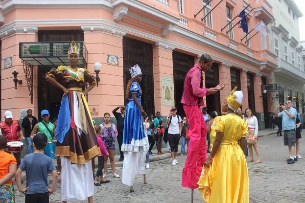 Show on the streets of Old Havana
