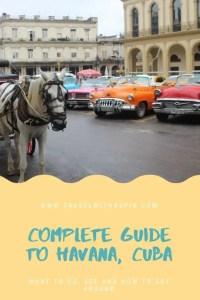 Best things to do in Havana, Cuba, in three days