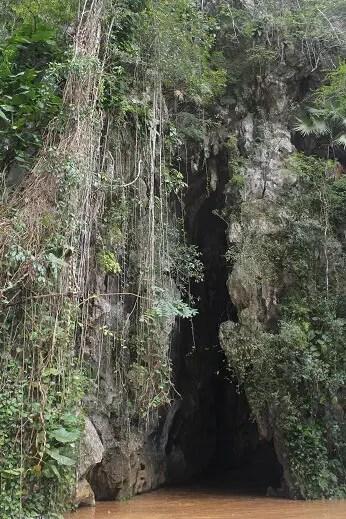 Exit from Cueva del Indio