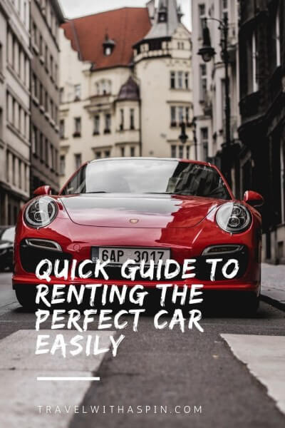 Quick Guide to Renting the Perfect Car Easily