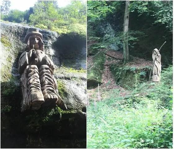 statues edmund gorge
