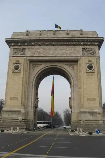 The Triumphal Arch, Bucharest