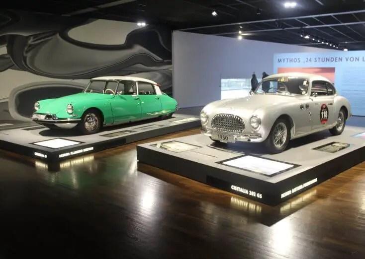 Vintage cars at Autostadt