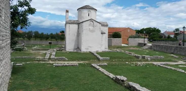 Biserica Sfintei Cruci din Nin, Croatia