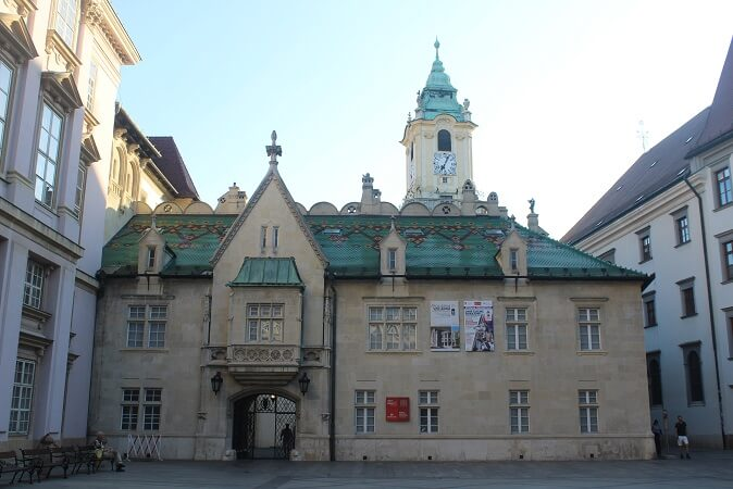 Bratislava town hall