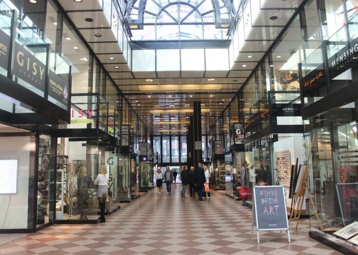 Louise shopping galleries, Hanovra, Germany