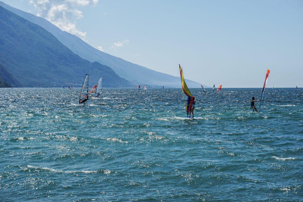 Gardameer Italië surfen