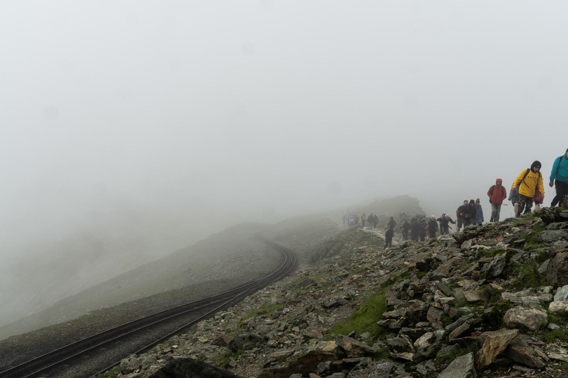 Snowdon beklimmen