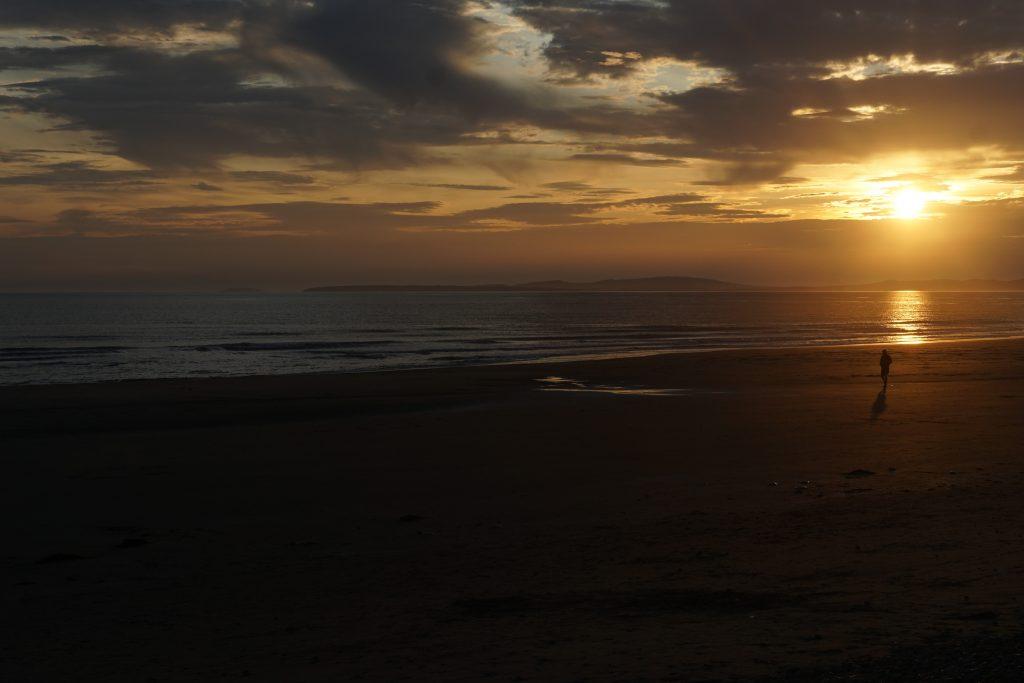 Barmouth zonsondergang