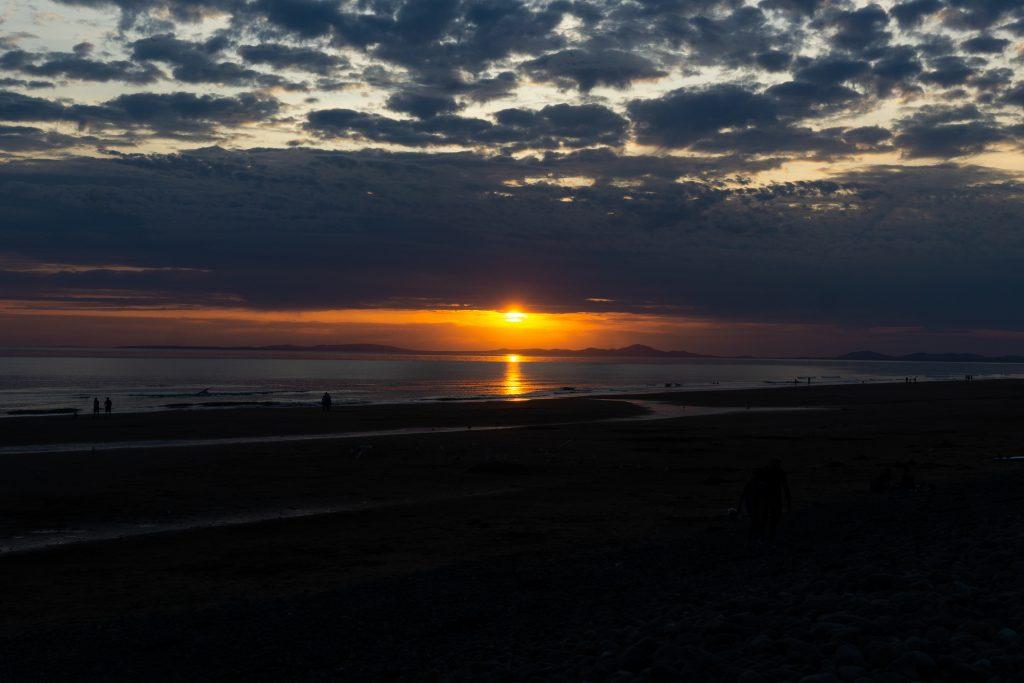 zonsondergang Barmouth