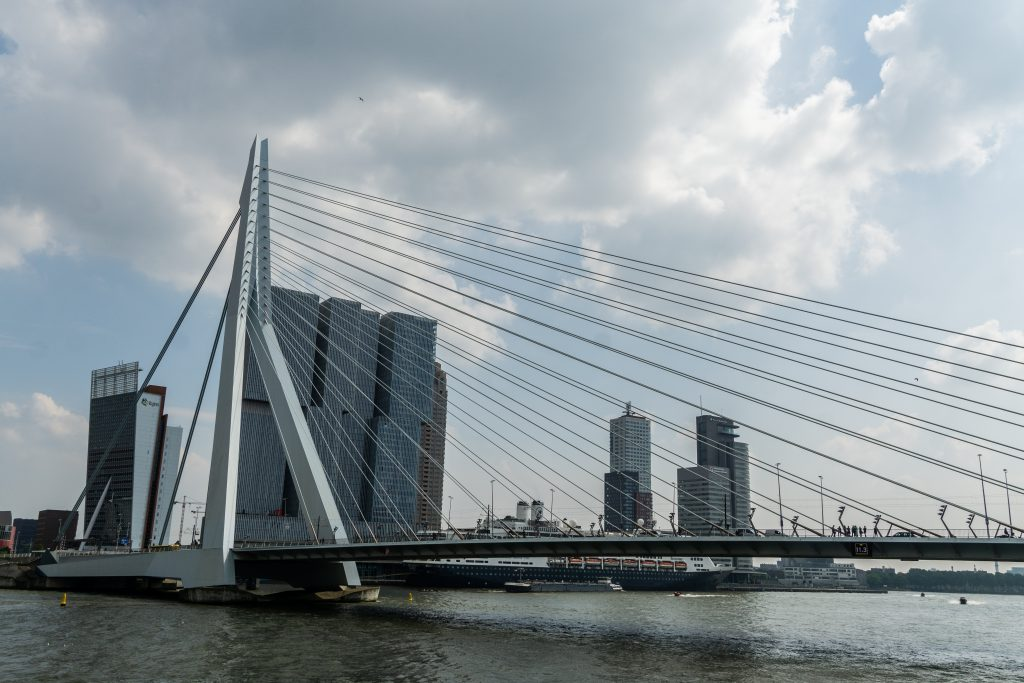 Erasmusbrug Rotterdam, Spido, hoogtepunten van Rotterdam