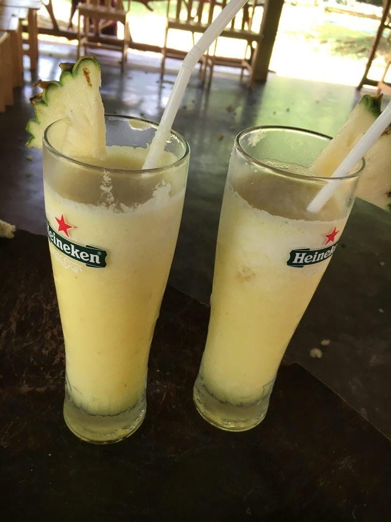 Pinneapple Juice, Sri Lanka, eten en drinken