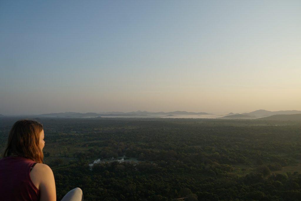 Pidurangala, uitzicht, Sri lanka