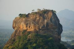 Sigiriya vanaf Pidurangala