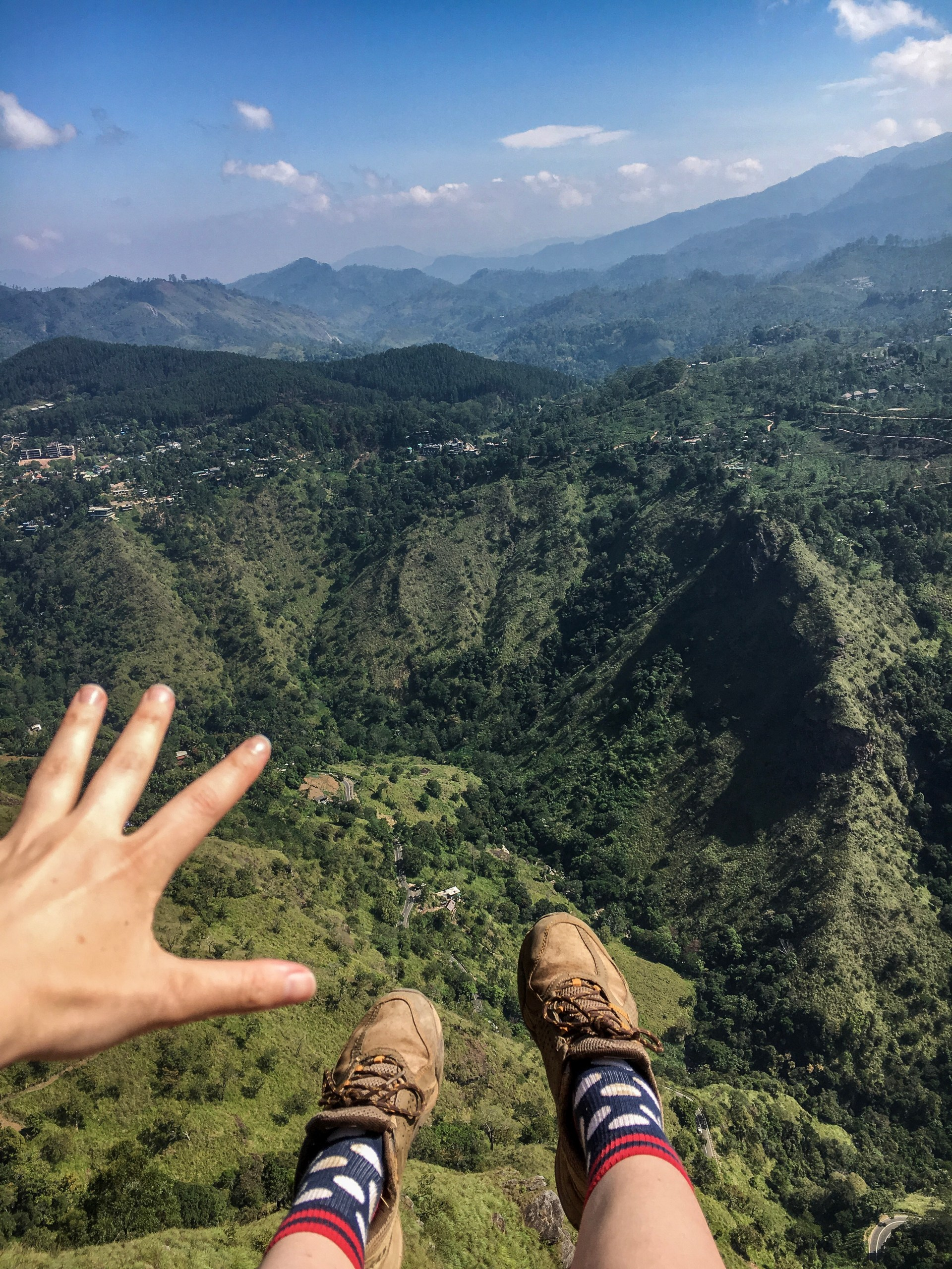 Ella Rock, reaching for the world, sri lanka
