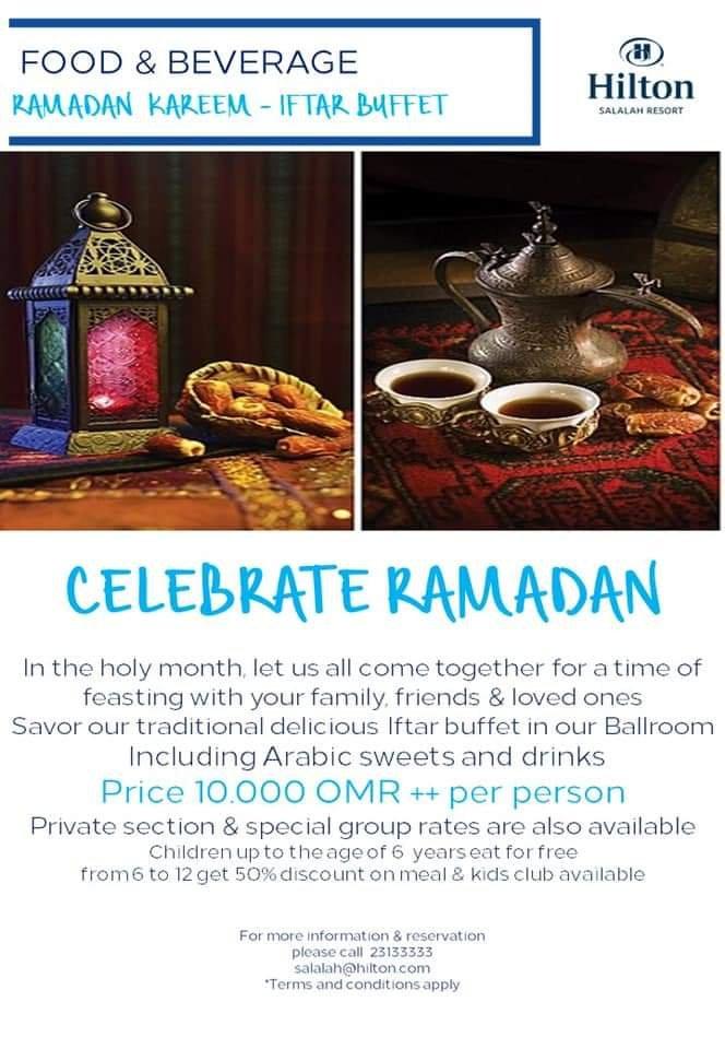 Iftar Buffet Guide In Salalah – Ramadan 2019 - Travel with