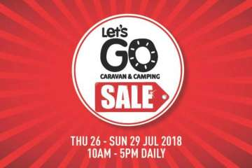 Lets Go Caravan and Camping Sale 2018