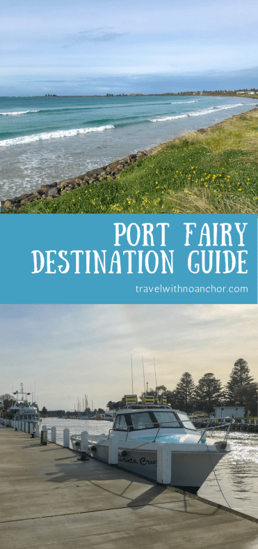 Port Fairy, located on the Great Ocean Road, Victoria, Australia - destination guide for things to do, boat trips, watersports, places to eat and where to stay #portfairy #victoria #thingstodo #greatoceanroad